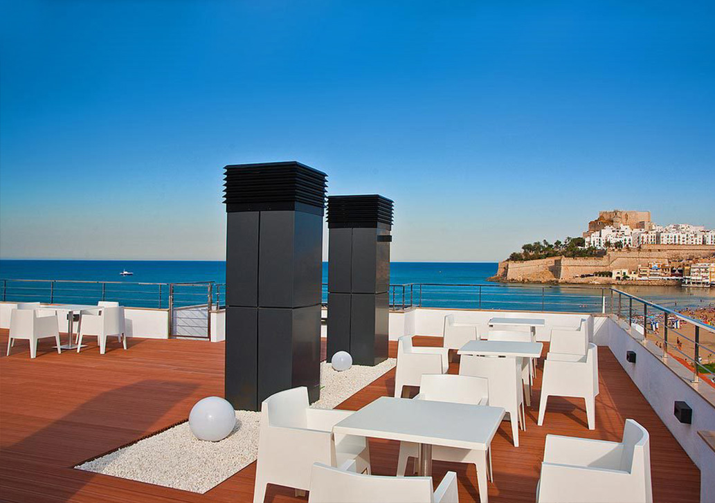 Hotel RH PortoCristo terraza chill out